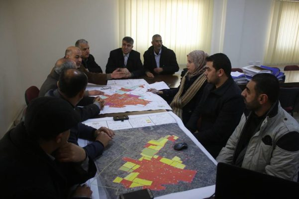 "Municipality of Abasan Al-Kabira Participatory Spatial Planning Support Programme"" funded by the Swiss Agency for Development and Cooperation (SDC)."